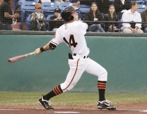 Former San Jose Giant Gary Brown has been added to San Francisco's 40-man roster