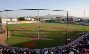 The San Jose Giants home opener is set for Thursday, April 10 at 7:00 PM