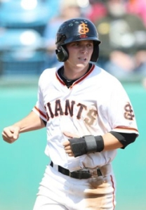 Former San Jose Giant Gary Brown has been rated among the top 100 prospects in baseball according to MLB.com