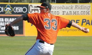 Chris Heston shot up the prospect rankings after his outstanding 2012 with Double-A Richmond