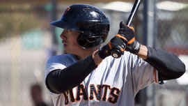 Ricky Oropesa hit 16 home runs with San Jose last season, but could he still return to the California League?