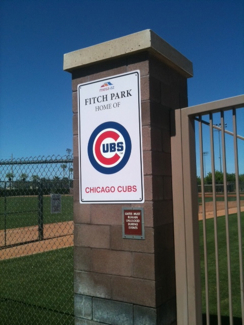 The Cubs minor league facility in Mesa