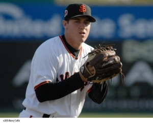 Ty Blach was first in the California League in ERA (2.90) and tied for second in wins (12)