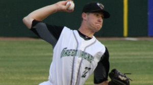 2012 first round draft pick Chris Stratton is a strong candidate to begin this season in San Jose's starting rotation (photo courtesy MiLB.com)