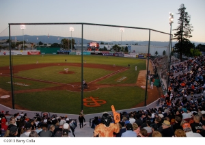 The San Jose Giants open the 2014 season on Thursday, April 3
