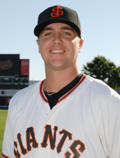 Third baseman Mitch Delfino led Augusta with 13 home runs last season before joining San Jose for the playoffs