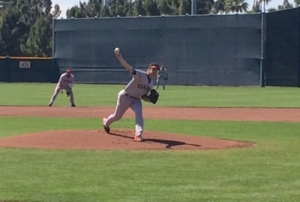 "Chris Stratton threw five scoreless innings for the Giants ""High-A"" team in a minor league exhibition game on Monday"