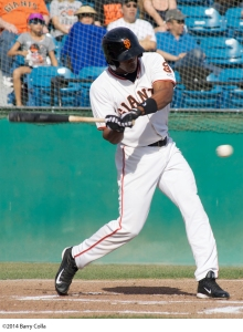 Daniel Carbonell has joined the Giants from Double-A Richmond. Carbonell hit .344 in 21 games for San Jose late last season.