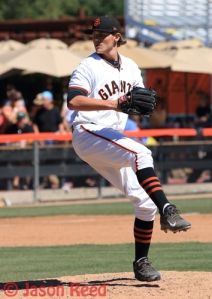 2014 California League All-Star Steven Okert debuted in San Francisco this season