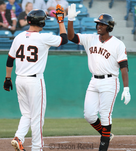 The 2015 San Jose Giants season begins on April 9