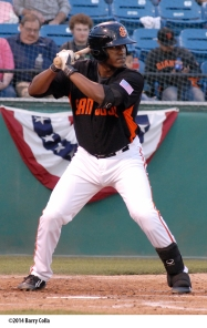Brian Ragira ranked fourth in the San Francisco farm system in home runs (20) and RBI's (82) this season