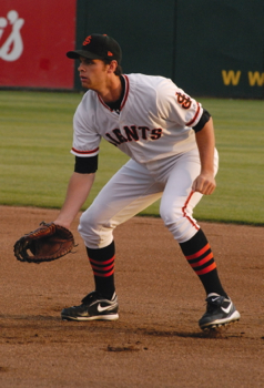 Brandon Belt hit .383 with the San Jose Giants during the 2010 championship season