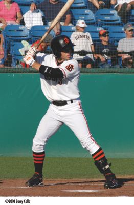 Juan Perez was a California League All-Star with the San Jose Giants in 2010