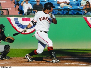 Crawford's most memorable hit as an SJ Giant was an 11th inning grand slam in Game 3 of the 2010 Championship Series