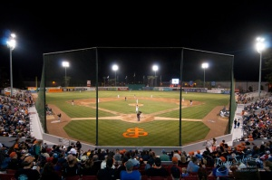 The San Jose Giants open the season at home for the first time since 2009