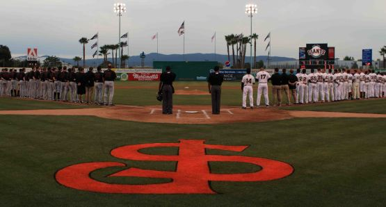 The San Jose Giants home opener is set for Thursday, April 16 at 7:00 PM