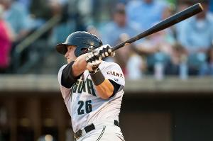 Catcher Ty Ross led Augusta in doubles (24) and was third on the team in RBI's (48) last season (photo courtesy MiLB.com)