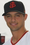 2014 first round draft pick Tyler Beede is scheduled to make the opening night start on the mound for San Jose