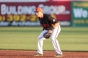 Second baseman Austin Slater picked-up a hit in last Tuesday's All-Star Game and was then promoted to Double-A