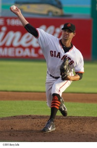 Tyler Beede (2-2, 2.58) starts for the Giants in tonight's series opener at Inland Empire