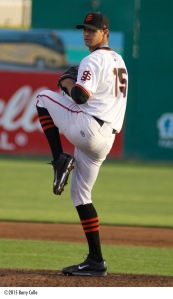 2014 first round pick Tyler Beede fashioned a 2.24 ERA in nine starts with San Jose before a promotion to Double-A