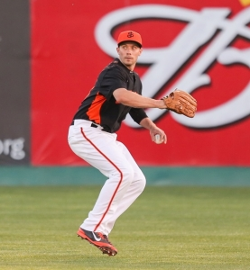 Outfielder Ryan Lollis began the season in San Jose before a July call-up to San Francisco