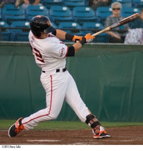 2015 San Jose Giants MVP Christian Arroyo was ranked among the top 100 prospects by Baseball America