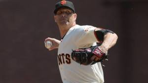 San Francisco Giants pitcher Tim Hudson is scheduled to start Friday's series opener for San Jose