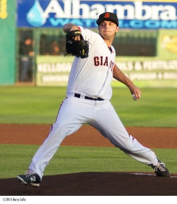 Andrew Suarez, a second round pick in this year's draft, joined the Giants rotation late in the season and could be a key member of the 2016 team