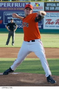 Former San Jose Giant Joe Biagini was selected by the Toronto Blue Jays in the major league phase of today's Rule 5 draft