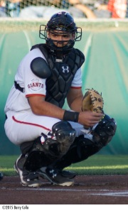 Aramis Garcia enters the 2016 season rated as the top catching prospect in the Giants organization