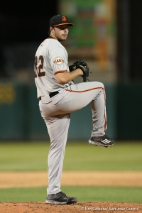 "Andrew Suarez had an excellent start for the Giants ""High-A"" team in minor league camp on Tuesday"