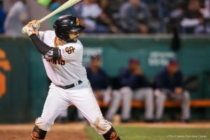 C.J Hinojosa and the Giants wrap-up their 14-game road trip in Modesto