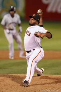 Rodolfo Martinez leads the California League with 12 saves
