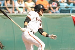 Steven Duggar was a key member of the Giants in the first half